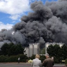 Morrisons bakery blaze severely damages site