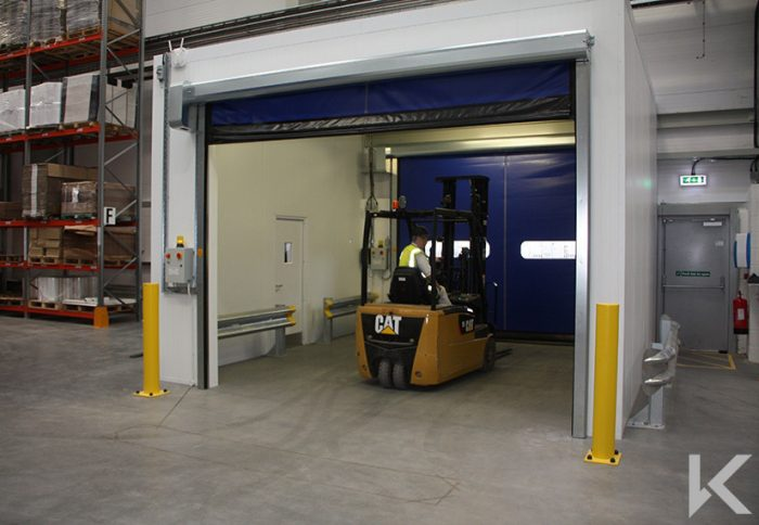 RAPIDOR SPEED DOORS FOR WRIGHTS NEW FACTORY